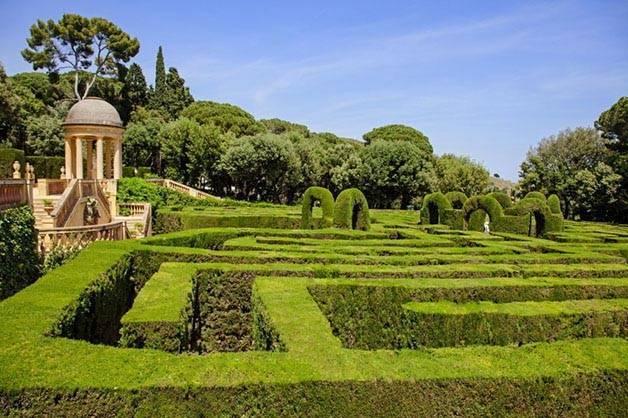 Jardín del laberinto de Horta actividades gratuitas