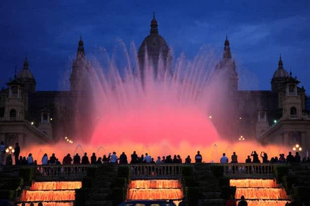 fuente mágica de Montjuïc