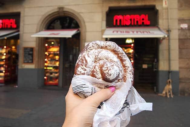 ensaimada del Mistral panadería