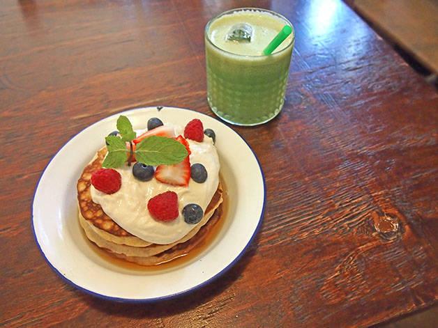 desayunar en Barcelona, granja petitbo