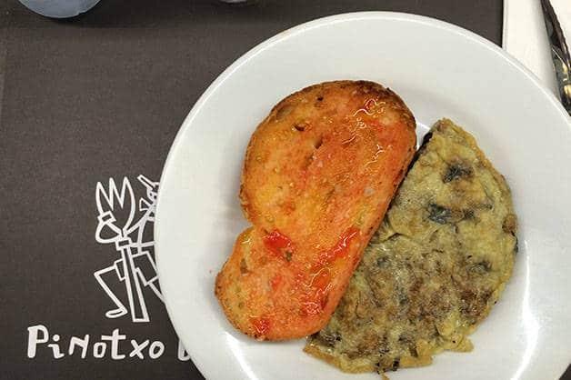 desayunar en Barcelona, pinotxo