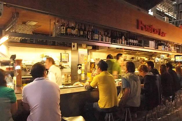 desayunar en Barcelona, pinotxo bar