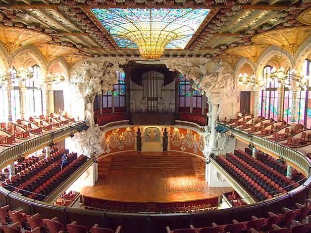 palau de la música catalana flamenco