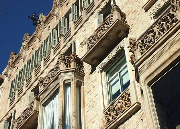 fachada modernista