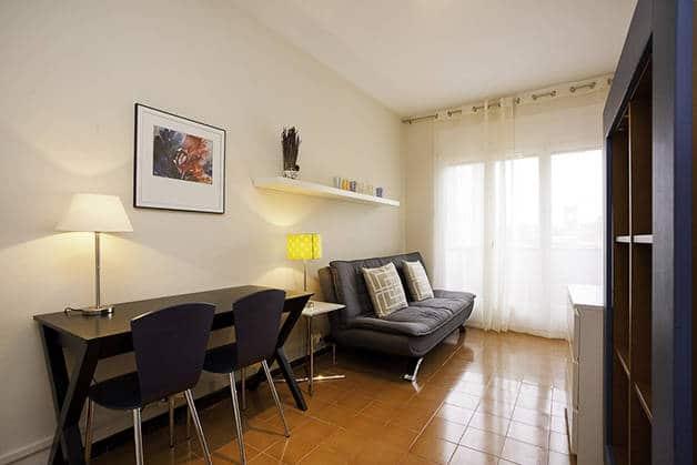 alquilar un apartamento en Barcelona estudio
