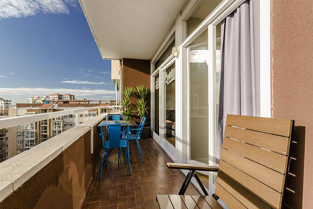 alquilar un apartamento en Barcelona terraza