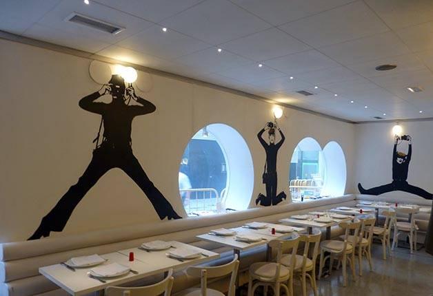 flash flash restaurante con diseño original