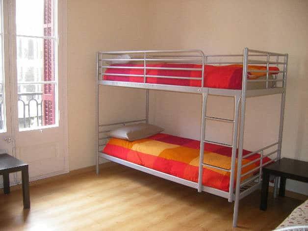 Central Garden dormitorio común