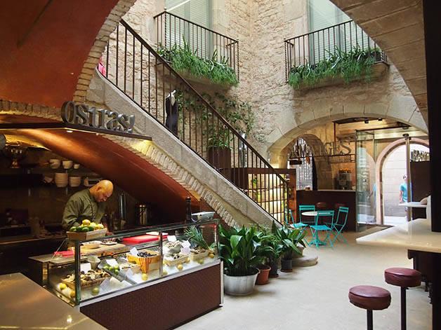 mercado barcelona mercat princesa patio