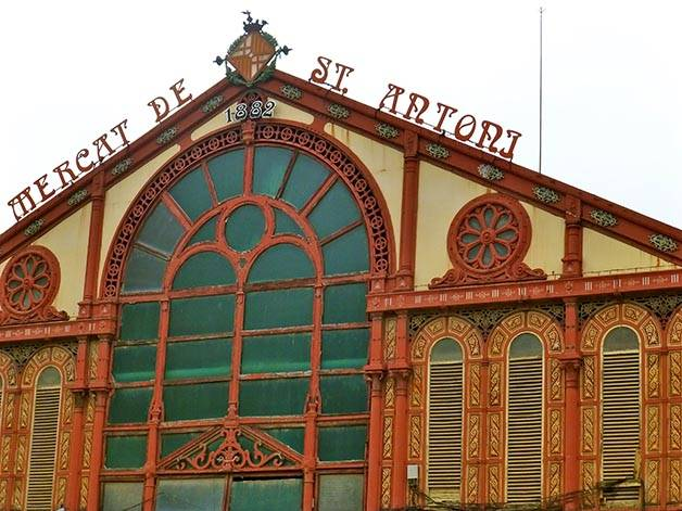 mercado Barcelona Sant Antoni