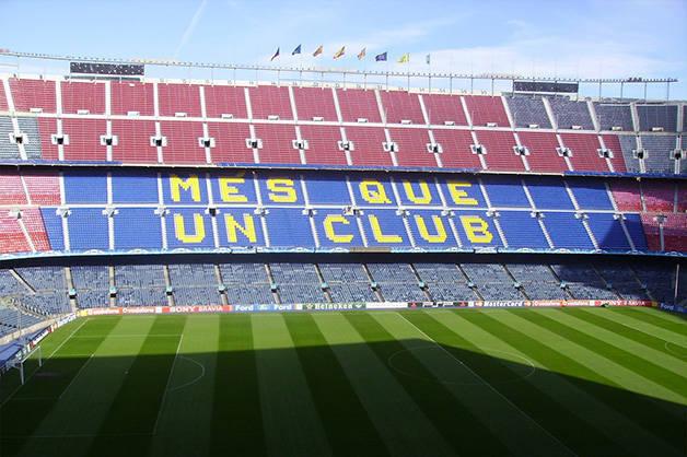 camp nou estadio fin de semana deportivo en Barcelona