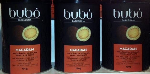 chocolat au macadamia bubo cadeaux