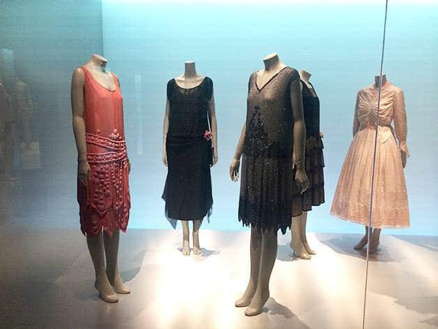 museo del diseño vestidos