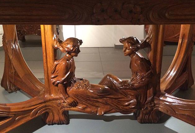 Museo del Modernismo Catalán - mueble