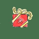 paquete regalo dibujo