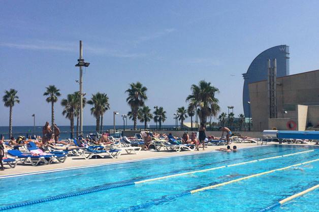 piscina fin de semana deportivo en Barcelona