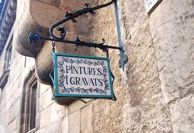 poble espanyol: pinturas y grabados