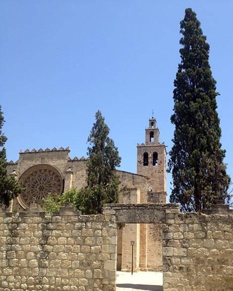 sant cugat monasterio excursión Barcelona