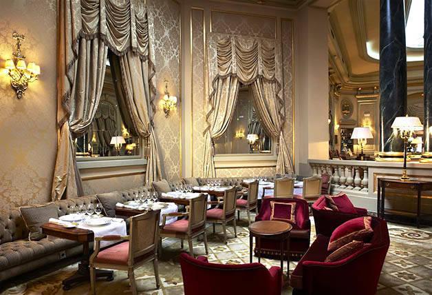 sala del restaurante Caelis