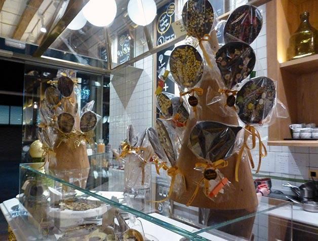mostrador chocolatería balaguer born