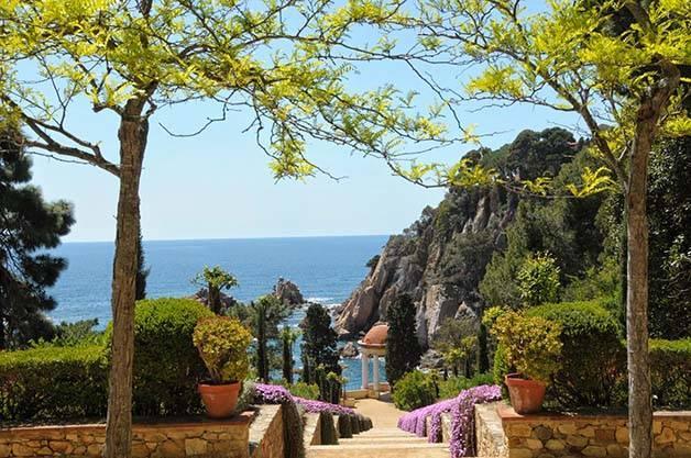 marimurtra jardín botánico Costa Brava