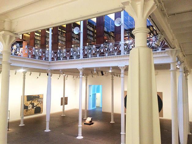 sala fundación Antoni Tàpies