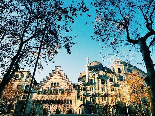 barcelona invierno estación Barcelona
