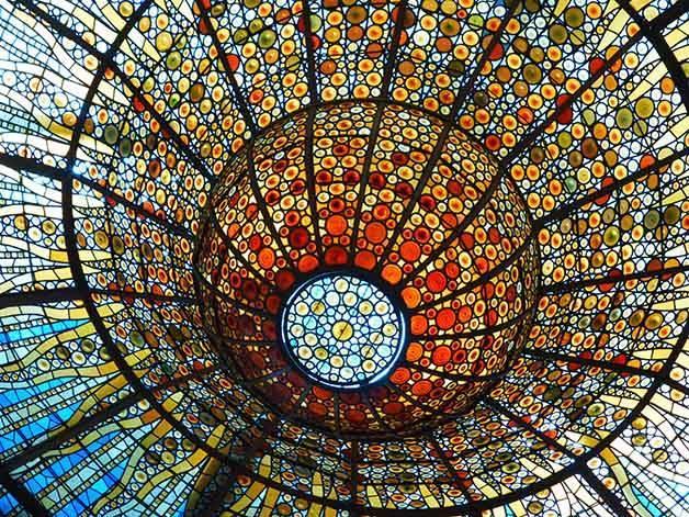 palau de la música arquitectura en Barcelona