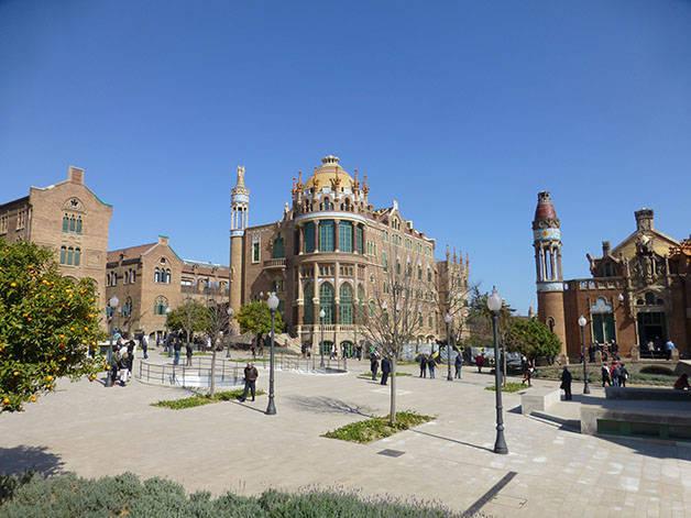 hospital sant pau arquitectura en Barcelona