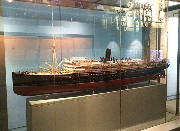 maqueta museo marítimo