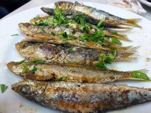 sardinas de la cova fumada