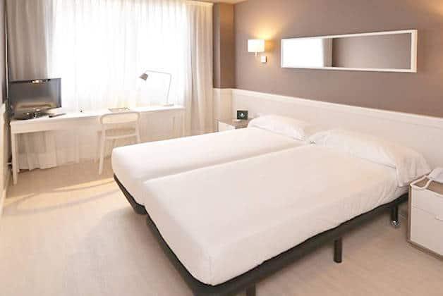 habitación doble hotel Para·lel