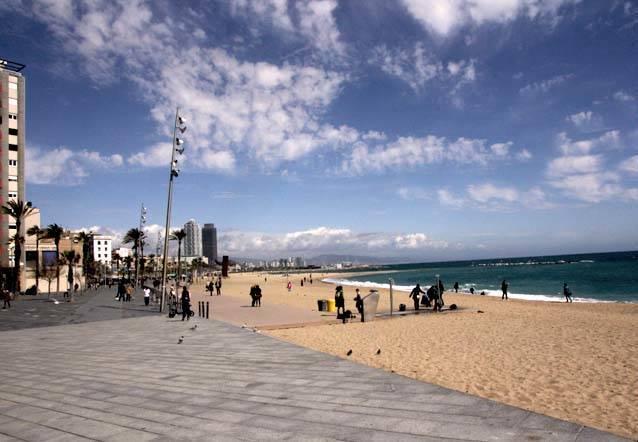 deporte al lado del mar en Barcelona