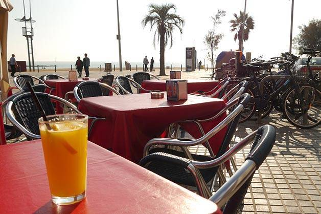 santa marta Barcelona como un local