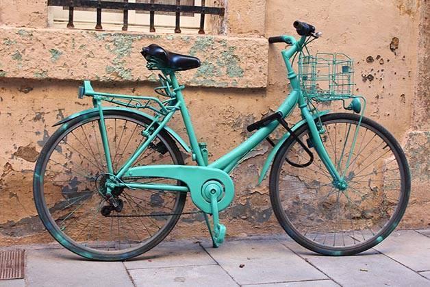 Barcelona como un local bici