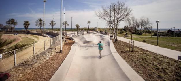 skateboard en Barcelona