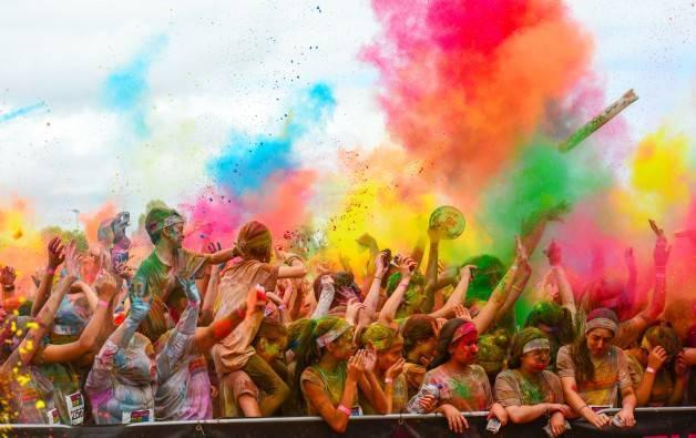The Color Run carreras en Barcelona