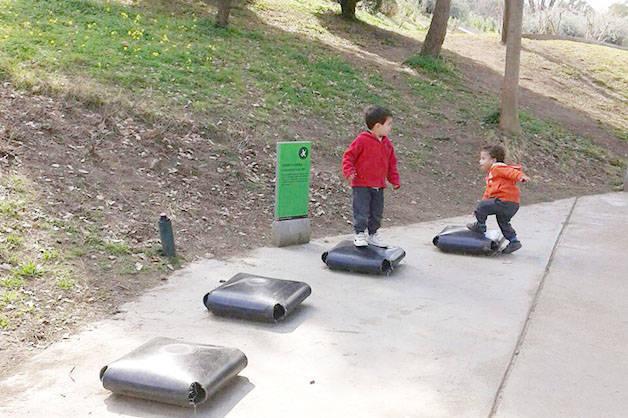 Parc Joan Brossa : fin de semana con niños y familia