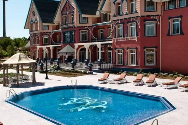 hoteles Port Aventura Gold River piscina