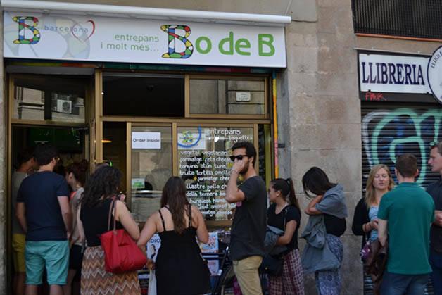 Fachada de Bo de B (c) Lea Lourmiere Bocadillo