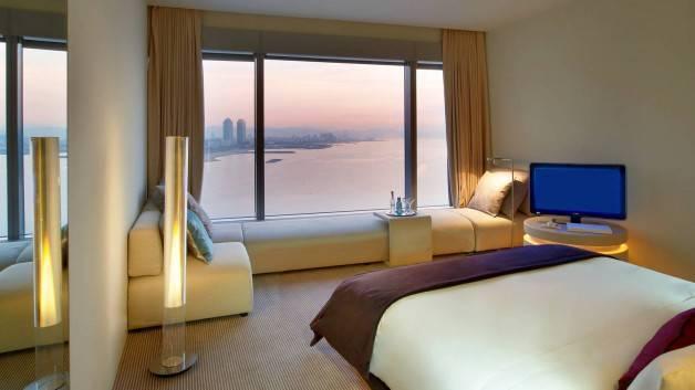 Hotel W vista del mar y de la ciudad