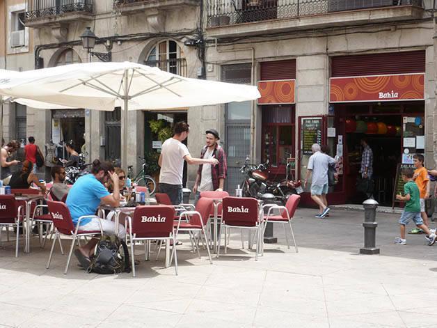Bahia plaza George Orwell