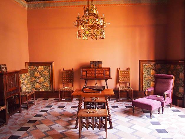 Casa Amatller salón