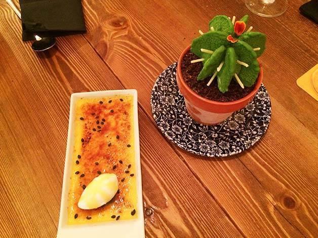 cactus y crema catalana agust
