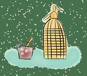 dibujo:sifón para vermut