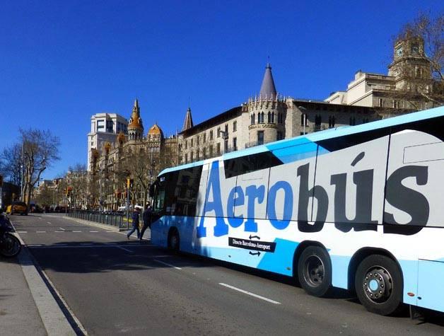 aerobus barcelona transfert