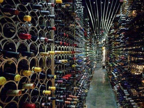 vinos catalanes: stock de botellas