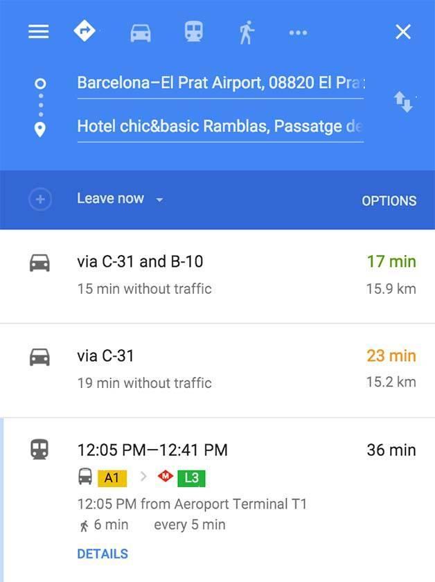 aeroport-hptel-itinerario