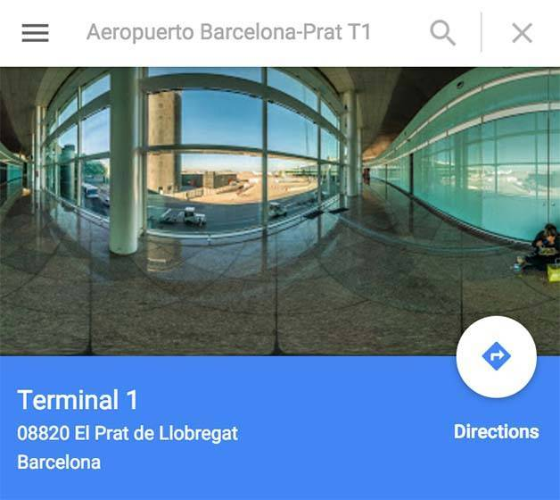 aeroport-hotel google maps