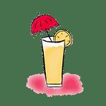 cóctel paraguas